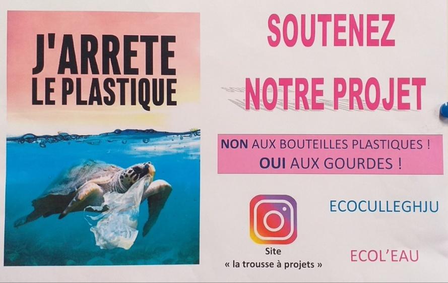 """""""Ecol'eau"""" : Aider les élèves du collège de Baléone à financer leur projet EDD via la Trousse à projets"""