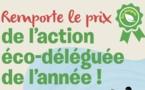 Lancement du concours « prix de l'action « éco-déléguée de l'année » : les inscriptions sont ouvertes !