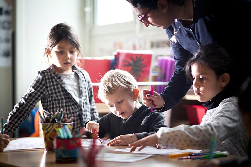 Photo d'illustration d'élèves en classe