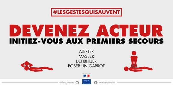 """Séance d'initiation aux """"gestes qui sauvent"""" en Corse du Sud"""